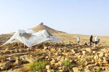 אתר עבודות ארכאולוגיות הר גמל